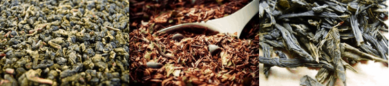 Tee von OR TEA? Verschiedene Teeblätter
