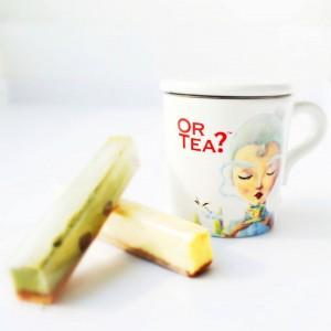 Teetasse in weiß