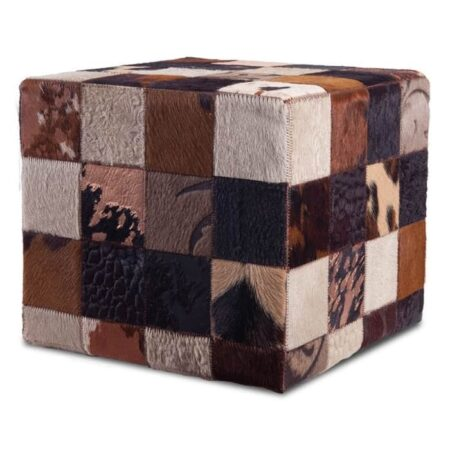 fell-hocker-braun-patchwork-fellhof