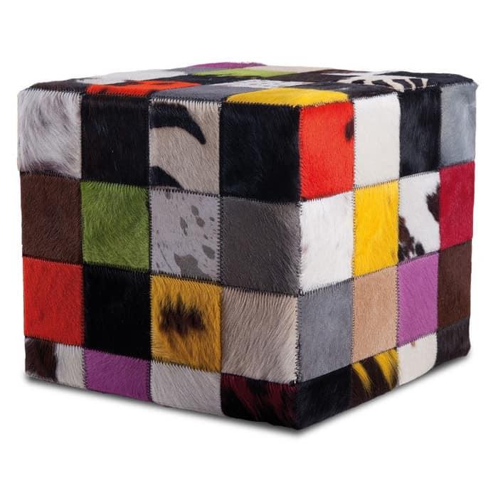 fellhof hocker fell multicolor bunt gutraum8. Black Bedroom Furniture Sets. Home Design Ideas