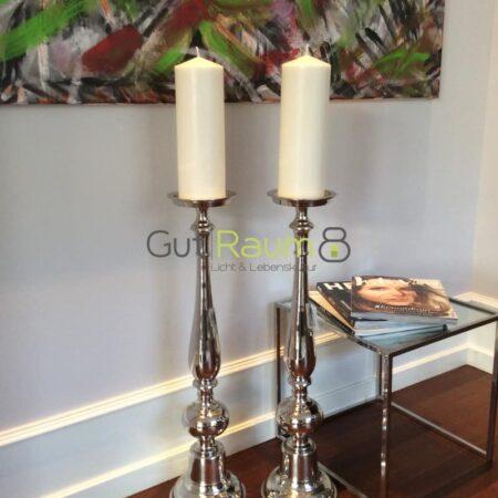 Kerzenständer Holwig in Silber von Light & Living