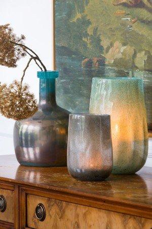 Vase/Windlicht MADGEE rechts  i.Bild
