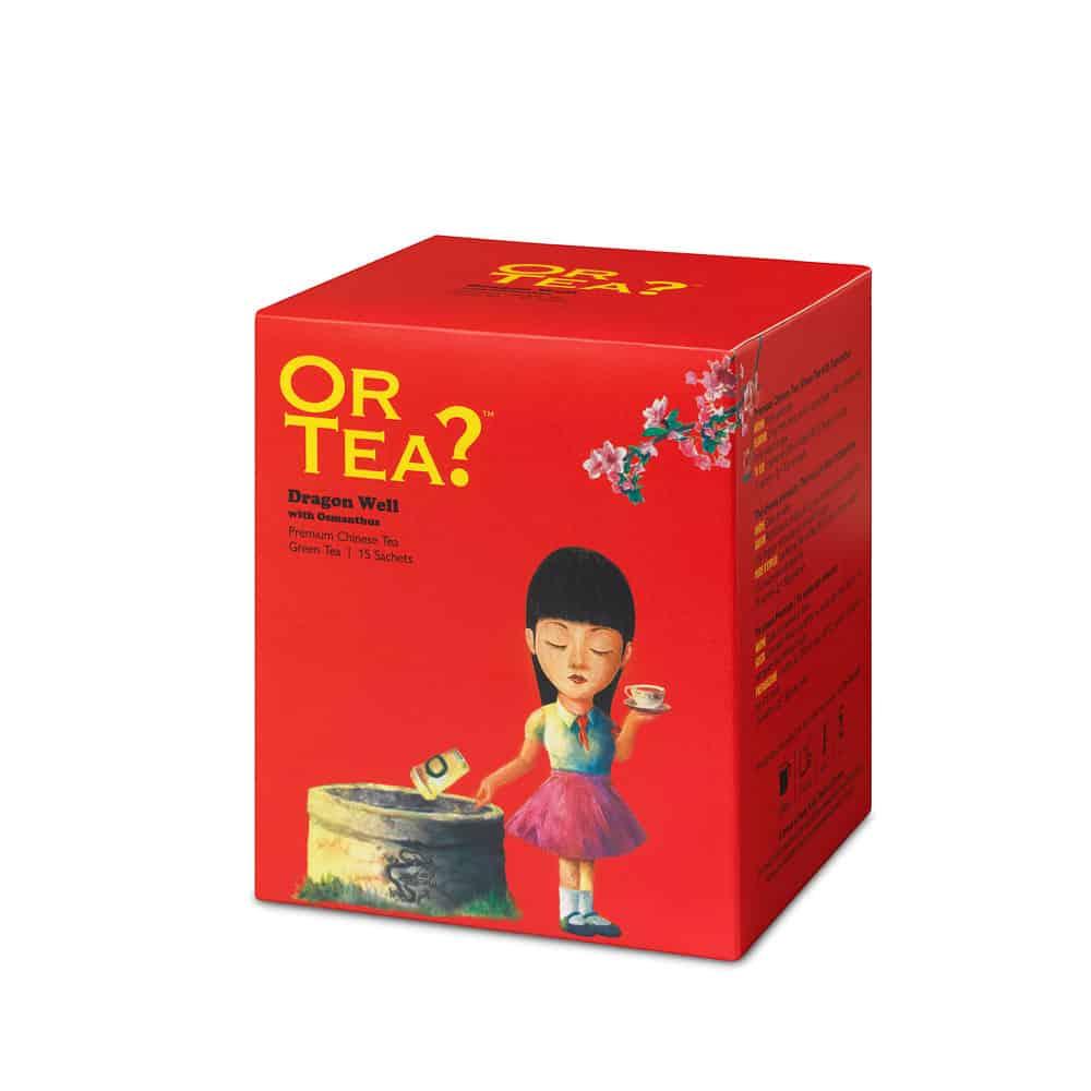 Or Tea? Grüner Tee DRAGON WELL im Teebeutel