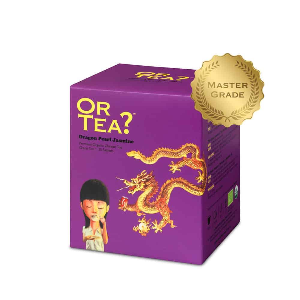 Or Tea? Grüner Tee DRAGON PEARL JASMINE im Teebeutel
