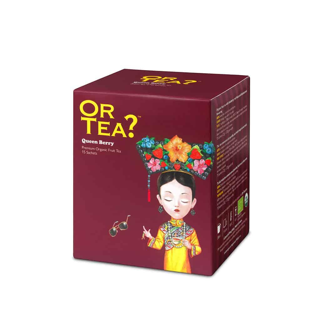 Or Tea Früchtetee QUEEN BERRY im Teebeutel