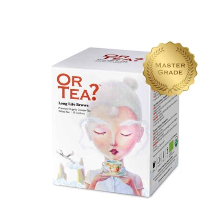 Or Tea? Weißer Tee LONG LIFE BROWS im Teebeutel