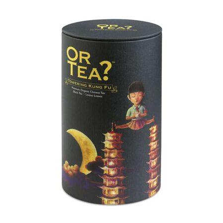 Schwarzer Tee Bio, loser Tee, kung Für Towering von Or TEA?
