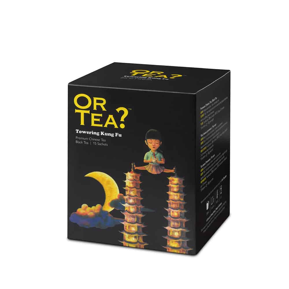 Or Tea? Schwarzer Tee TOWERING KUNG FU im Teebeutel