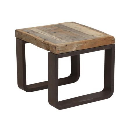 Beistelltisch CUENCA aus Holz und Metall von Light & Living