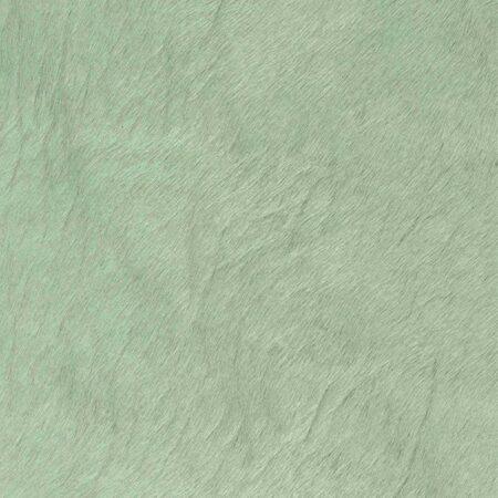 Kuhfell Teppich Aquagrün