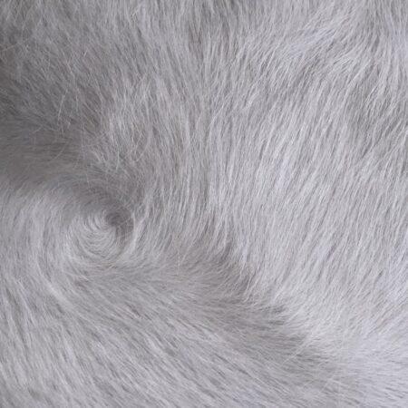 Kuhfell Teppich Grau