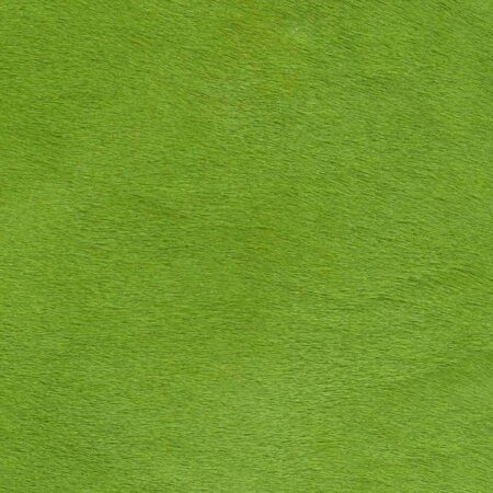 Kuhfell Teppich Apfelgrün