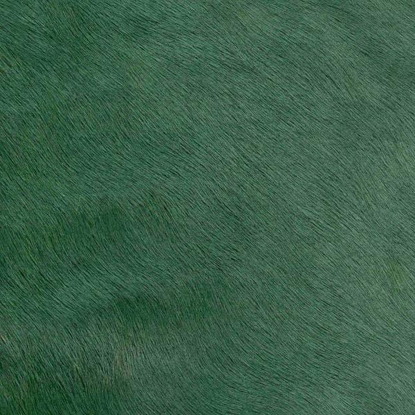 Kuhfell Teppich XXL Grasgrün  Stierfell  GutRaum8