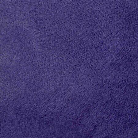 Kuhfell Teppich Lila