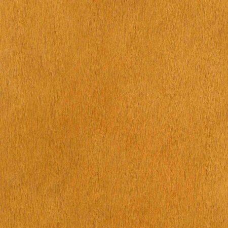 Kuhfell Teppich Senf