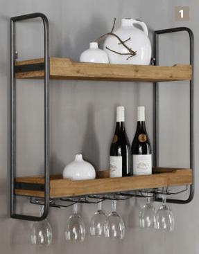 Regal / Stellage SUCRE für die Wand | GutRaum8 Möbel Küche
