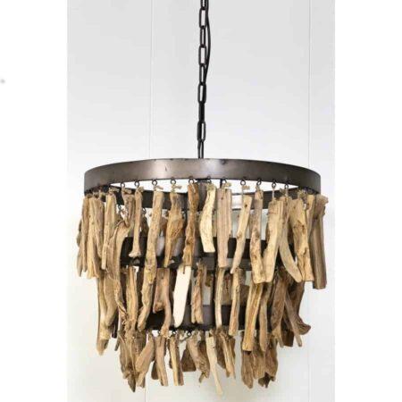 Hängeleuchte JALOE Natur Holz Light & Living - pur Natur