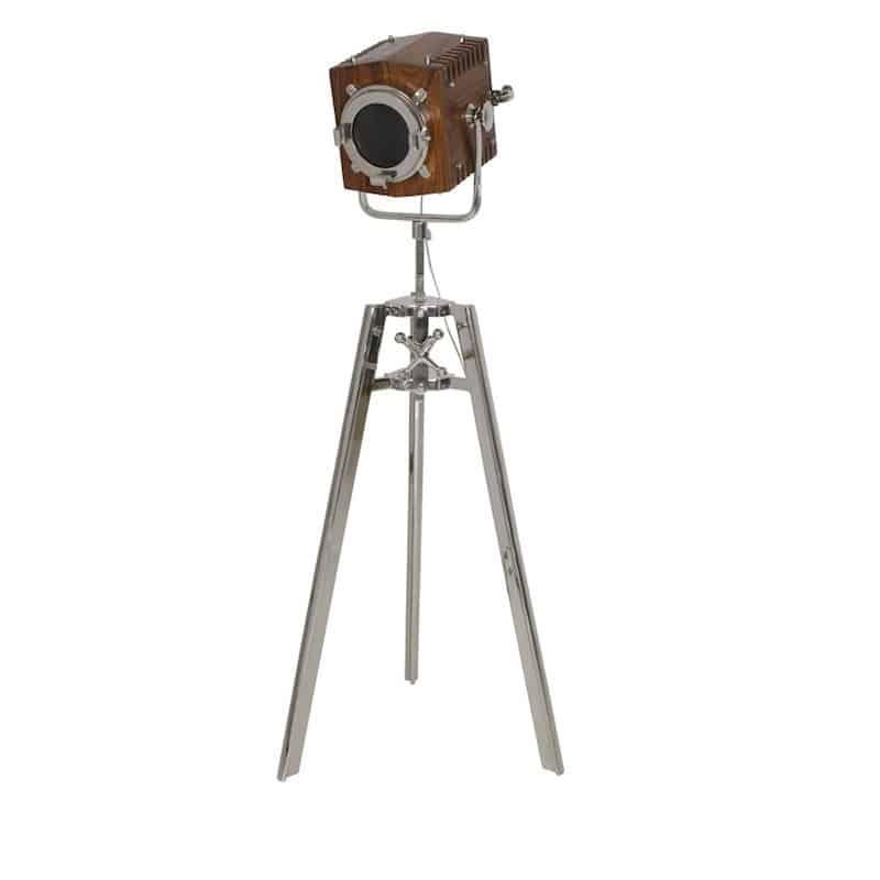 Stehleuchte WILLIAM 166 cm - Holz/Metall von Light & Living