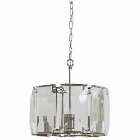 Hängeleuchte Alexia aus Glaskristall von Light & Living 43x43x47 cm