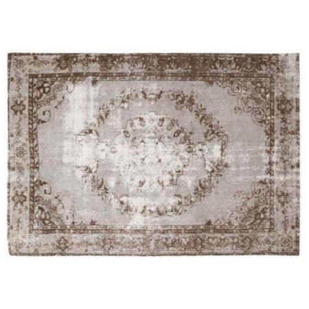 Perser Teppich im used Look, Vintage, braun beige von Light & Living