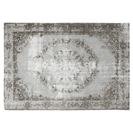 Vintage Teppich in grau, perser Teppich von Light & Living