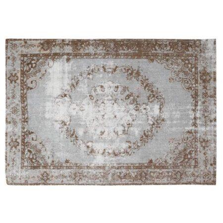 Vintage Teppich, Perser Teppich in hell blau von Light & Living