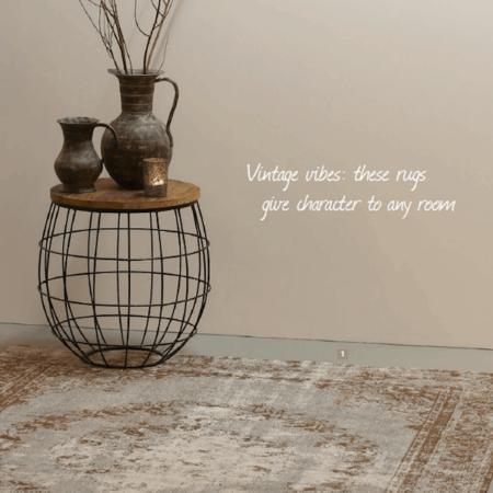 Vintage Perser Teppich im used Look von Light & Living