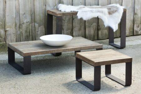 Beistelltisch, Konsole & Couchtisch aus Holz & Metall von Light & Living