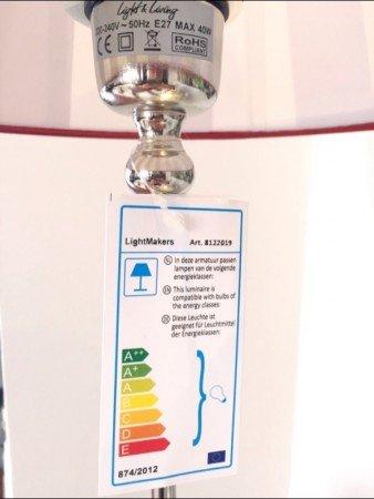 Energie Label Tischlampe Enclave