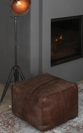Vintage Teppich ANBAR & Sitzpouf BOB & Stehleuchte KYAN