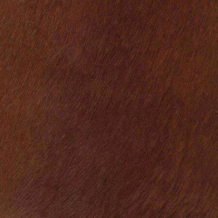 Kuhfell Teppich Cognac Braun