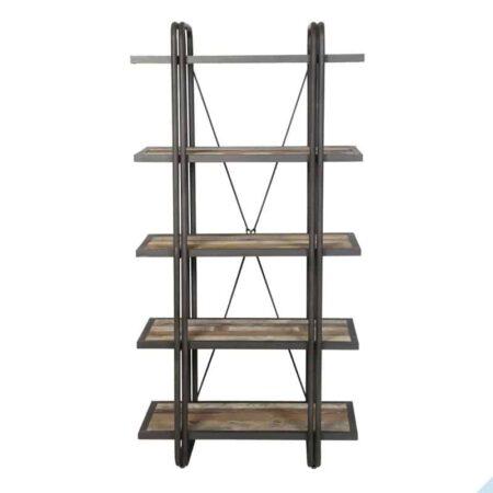 Regal POTOSI 5 Böden aus Holz und Metall von Light & Living