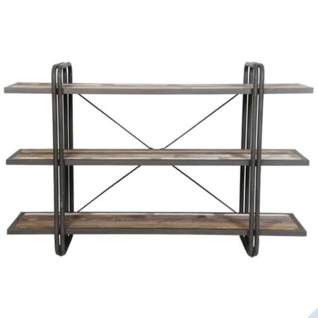 Regal POTOSI 3 Böden aus Holz und Metall von Light & Living