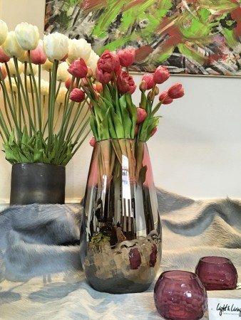 Windlicht Vase