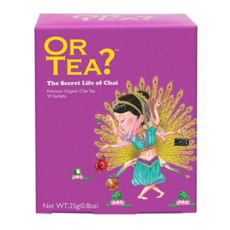 Or Tea? The Secret Life of Chai, im Teebeutel
