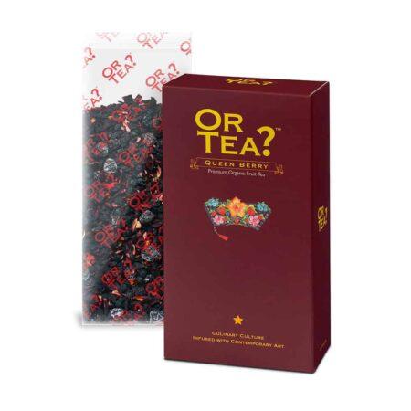 QUEEN BERRY, Früchtetee, Or Tea?, ein Mix aus Beeren im Nachfüllpack