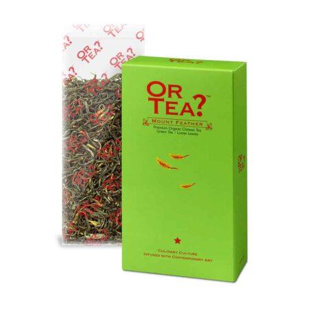 Or Tea? MOUNT FEATHER Bio Grüner Tee Nachfüllpack