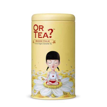 Or Tea? BEEEEE CALM, Kamillentee mit Honig und Vanille In Teedose
