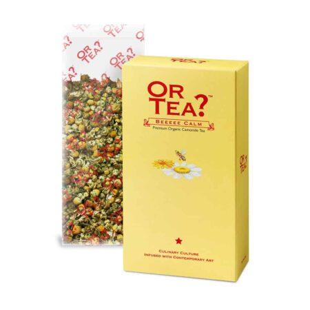 Or Tea? BEEEEE CALM, Kamillentee mit Honig und Vanille, Nachfüllpack