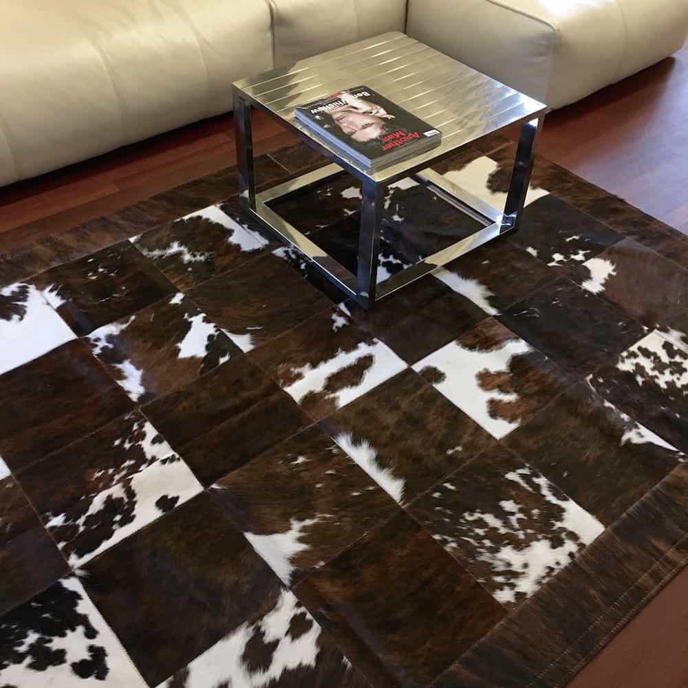 fellhof kuhfell teppich normandie patchwork 120x180 cm gutraum8. Black Bedroom Furniture Sets. Home Design Ideas