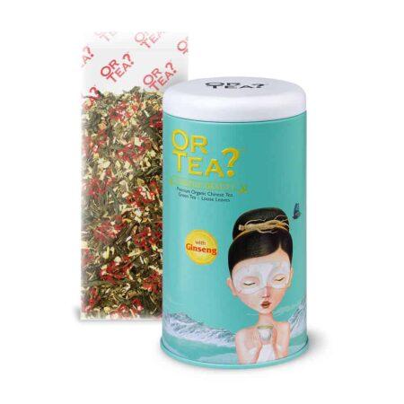 Or Tea? GINSENG BEAUTY Kräutertee Grüner Tee Ginseng in der Teedose