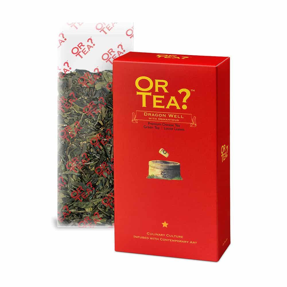 Or Tea? Grüner Tee DRAGON WELL im Nachfüllpack