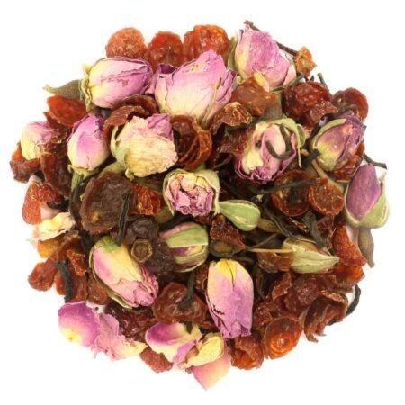 Or Tea? La Vie En Rose, loser schwarzer Tee mit Rosenknospen