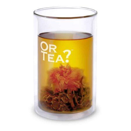 praktisches Tee Glas, sehr gross, doppelwandiges Glas von Or Tea?