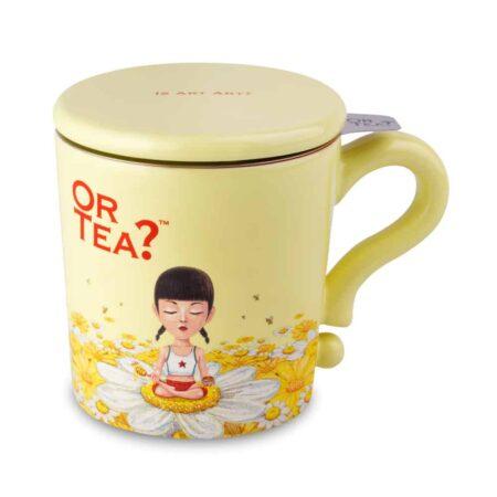 Or Tea? Teetasse gelb Ivory