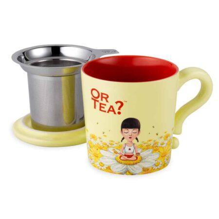 Teetasse von Or Tea? im elfenbein-gelb