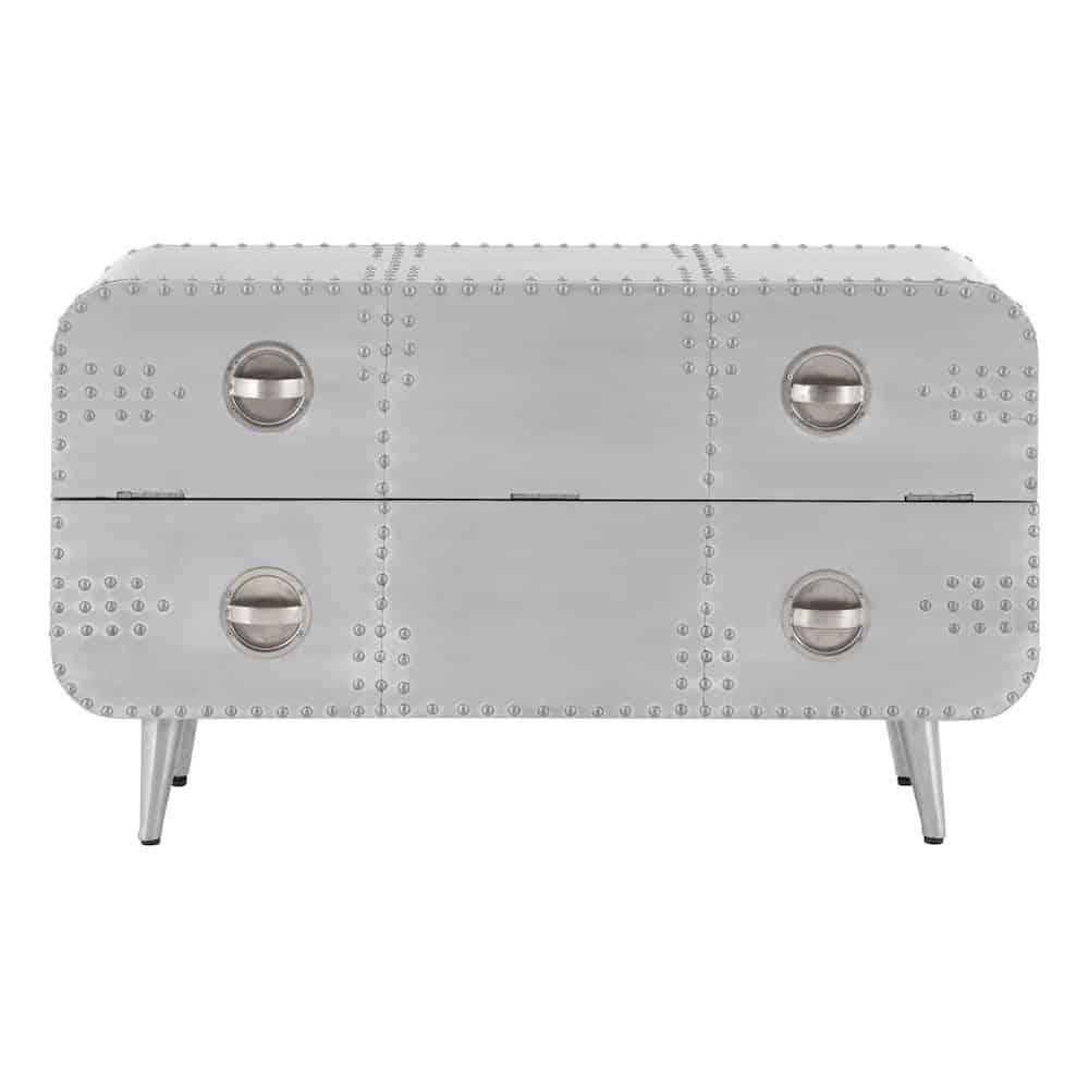 metall kommode good metall kommode ebay kommode akazie metall schwarz industrial with metall. Black Bedroom Furniture Sets. Home Design Ideas