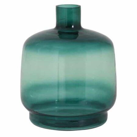 Vase TEQUES grün meliert, aus Glas von Light & Living