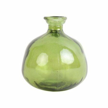 Vase PINTO aus Glas - grün von Light & Living