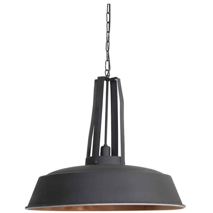 h ngeleuchte inez graphit kupfer 61 cm gutraum8 light. Black Bedroom Furniture Sets. Home Design Ideas